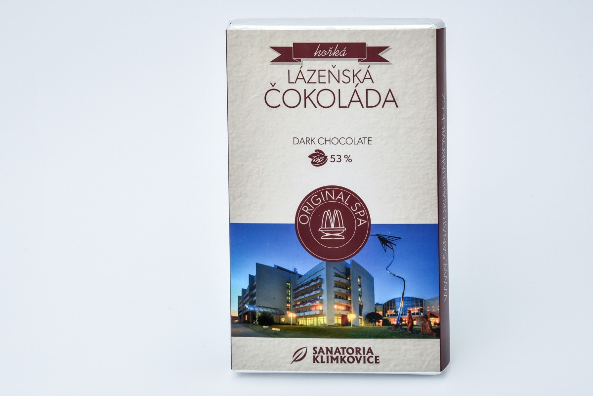 Lázeňská čokoláda hořká